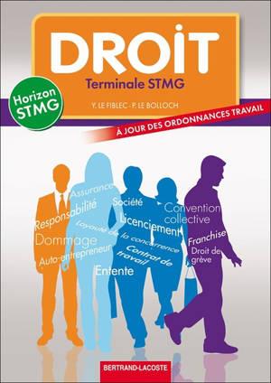 Droit, terminale STMG
