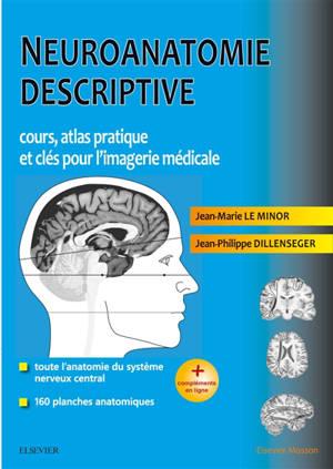 Neuroanatomie descriptive : cours, atlas pratique et clés pour l'imagerie médicale