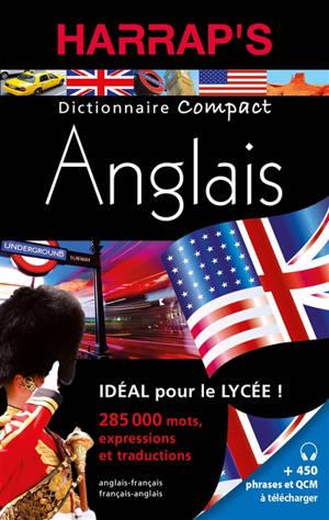 Harrap's dictionnaire compact anglais : anglais-français, français-anglais