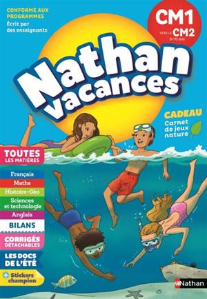 Nathan vacances, CM1 vers le CM2, 9-10 ans : toutes les matières