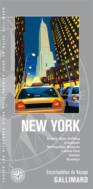 New York : Empire State Building, Chinatown, Metropolitan Museum, Central Park, Harlem, Brooklyn