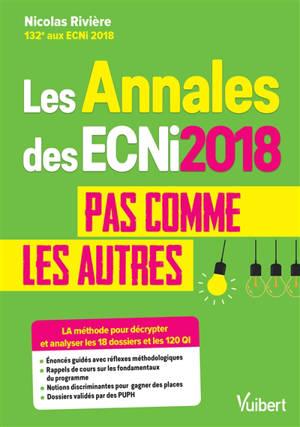 Les annales des ECNi 2018 pas comme les autres : la méthode pour décrypter et analyser les 18 dossiers et les 120 questions QI