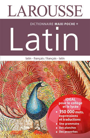 Dictionnaire maxipoche + latin : latin-français, français-latin