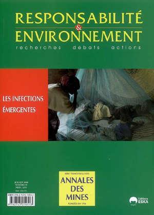 Responsabilité et environnement. n° 51, Les infections émergentes