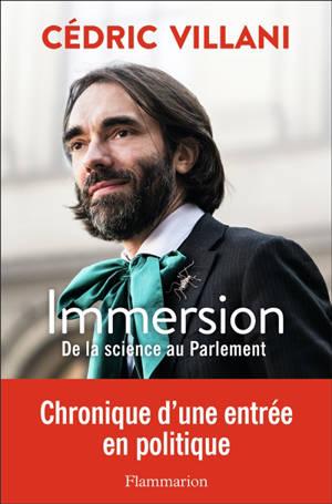 Immersion : de la science au Parlement
