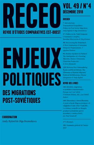 Revue d'études comparatives Est-Ouest. n° 4 (2018)