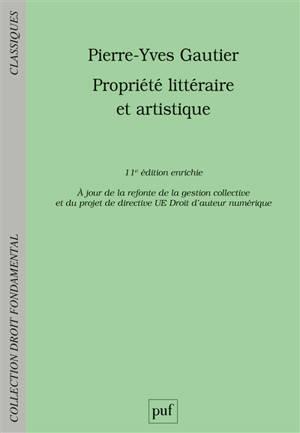 Propriété littéraire et artistique