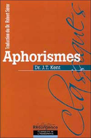 Aphorismes. Précédé de Introduction à l'homéopathie (prolégomènes)