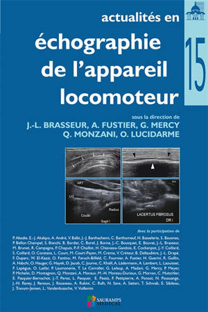 Actualités en échographie de l'appareil locomoteur. Volume 15
