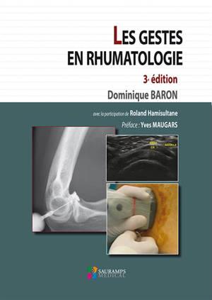 Les gestes en rhumatologie
