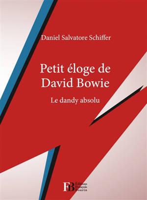 Petit éloge de David Bowie : le dandy absolu