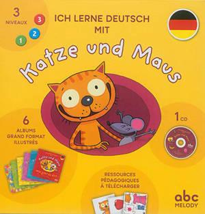 Ich lerne Deutsch mit Katze und Maus