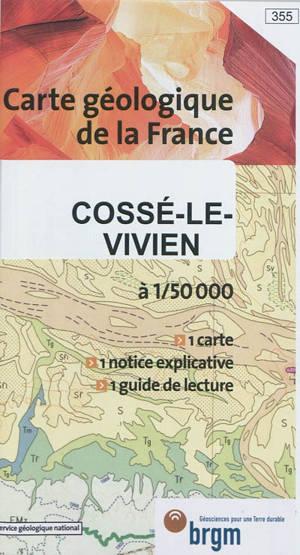 Cossé-le-Vivien : carte géologique de la France