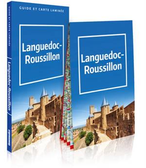 Languedoc-Roussillon : 3 en 1 : guide et carte laminée