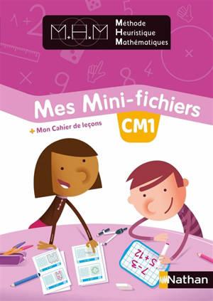 Mes mini-fichiers CM1 : + mon cahier de leçons