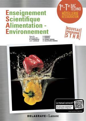 Enseignement scientifique, alimentation environnement 1re-terminale bac techno, hôtellerie restauration : nouveau programme STHR