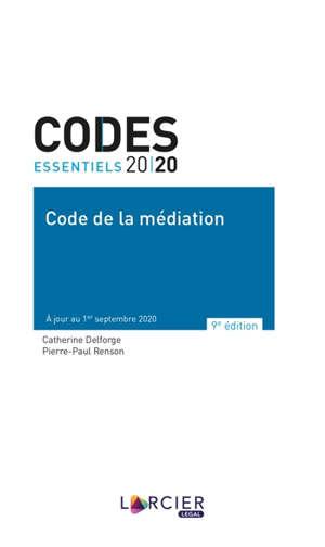 Code de la médiation 2020