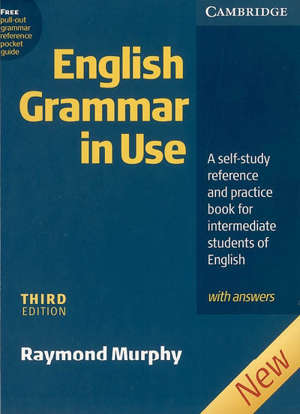 English grammar in use : a self-study reference and pratice book for intermediate students of English, with answers
