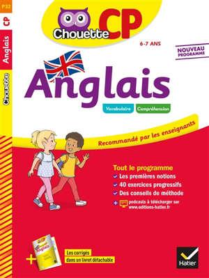 Anglais CP, 6-7 ans : nouveau programme