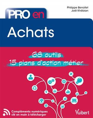 Achats : 68 outils, 15 plans d'action métier