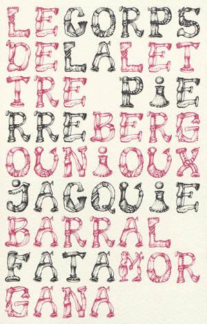 Le corps de la lettre