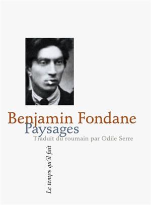 Paysages : poèmes 1917-1923