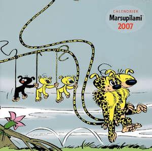 Calendrier Marsupilami 2007