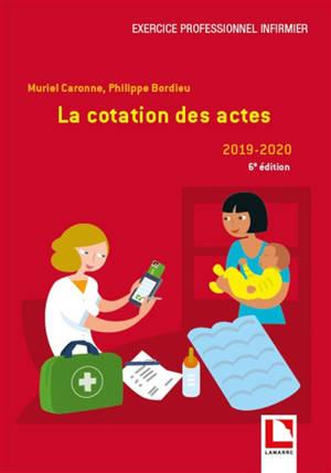 La cotation des actes : 2019-2020