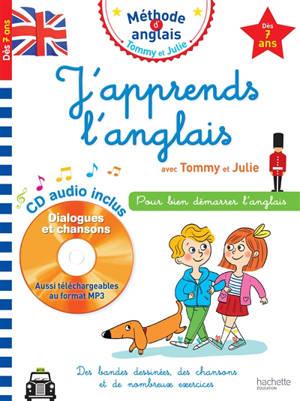 J'apprends l'anglais avec Tommy et Julie, dès 7 ans