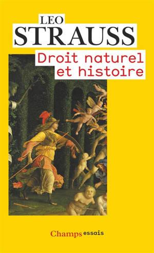 Droit naturel et histoire