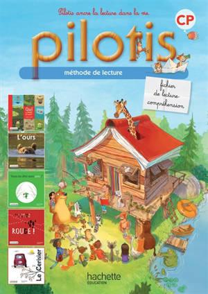Pilotis, méthode de lecture CP : fichier de lecture-compréhension