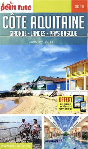 Côte aquitaine : Gironde, Landes, Pays basque : 2019-2020
