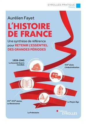 L'histoire de France : une synthèse de référence pour retenir l'essentiel des grandes périodes