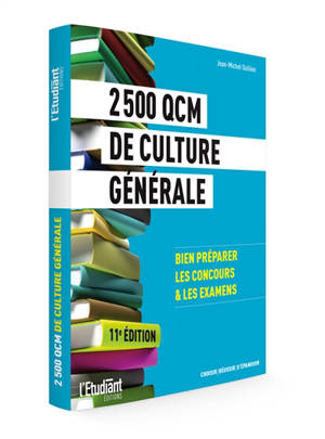 2.500 QCM de culture générale : bien préparer les concours & les examens