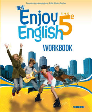 New Enjoy English 5e, A1-A2 : workbook