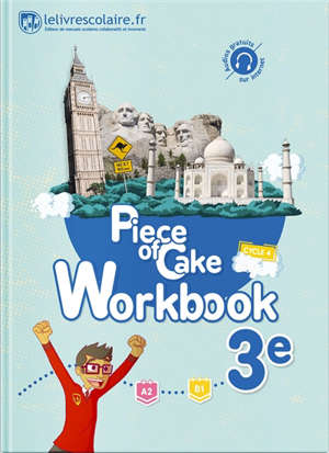 Piece of cake 3e, A2-B1 : workbook