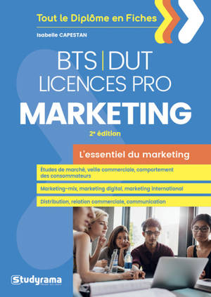 BTS, DUT, licences pro : marketing