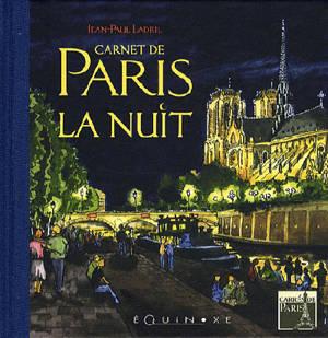Carnet de Paris la nuit