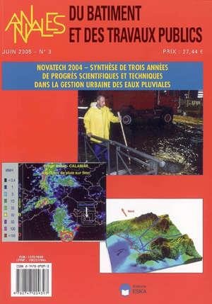 Annales du bâtiment et des travaux publics. n° 3 (2005), Synthèse de trois années de progrès scientifiques et techniques dans la gestion urbaine des eaux pluviales