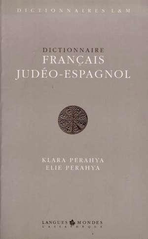 Dictionnaire français judéo-espagnol