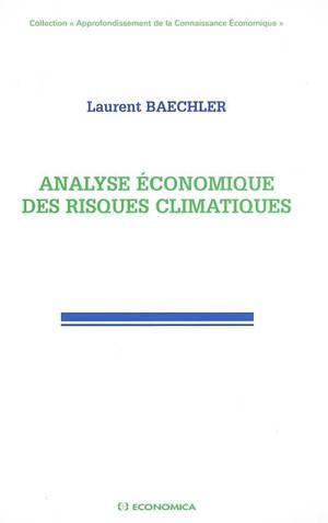 Analyse économique des risques climatiques