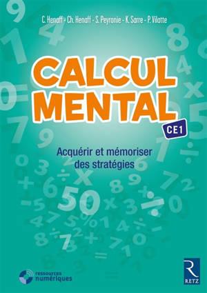 Calcul mental CE1 : acquérir et mémoriser des stratégies