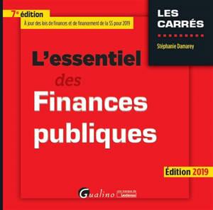 L'essentiel des finances publiques 2019