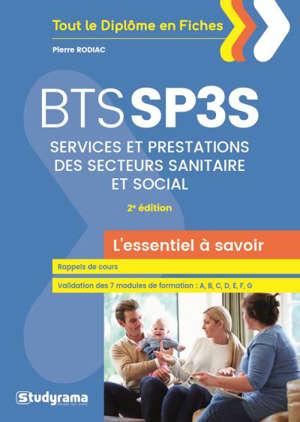 BTS SP3S : services et prestations des secteurs sanitaire et social