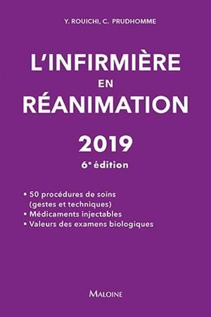 L'infirmière en réanimation : 2019