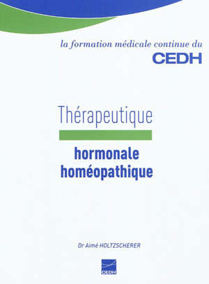 Thérapeutique hormonale homéopathique