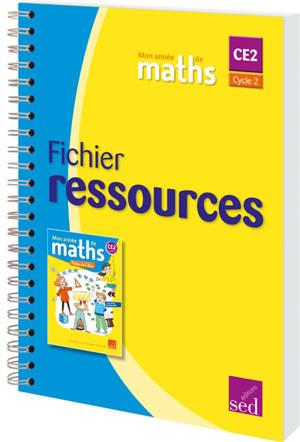 Mon année de maths CE2, cycle 2 : fichier ressources
