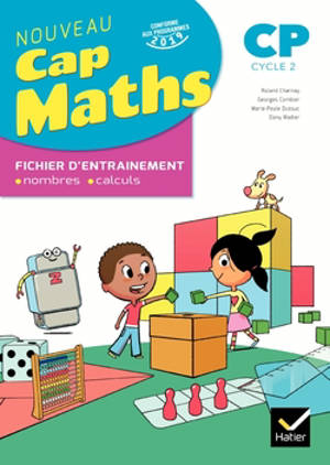 Cap maths CP, cycle 2 : fichier d'entraînement