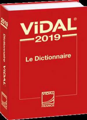 Vidal 2019 : le dictionnaire