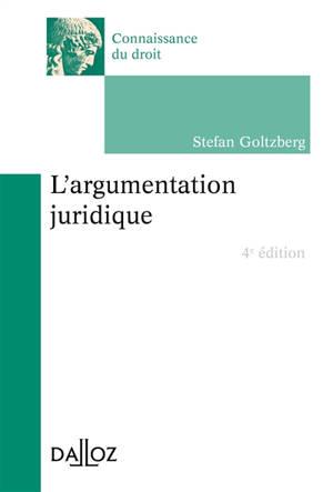 L'argumentation juridique